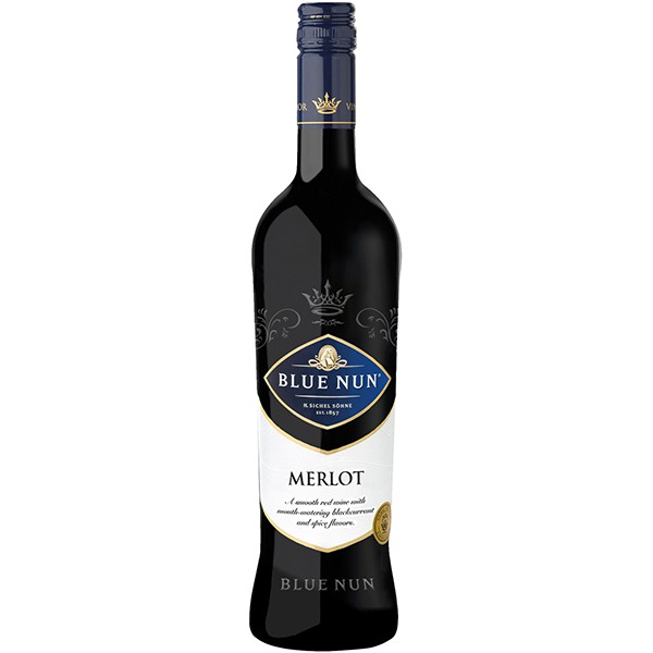 Blue Nun Merlot NV (750ml)