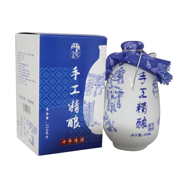 東越人家手工精釀酒十年陳  (禮盒、瓷瓶)
